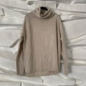 FRENCH CONNECTION TURTLE NECK DRAPEY SWEATER